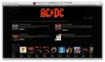The iTunes Store preview of the ACDC collection