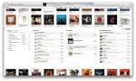 iTunes Store recommendations are integrated into the album view