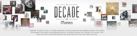 iTunes Decade